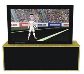 HDTV Papercraft