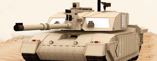 Challenger 2 British Tank Papercraft