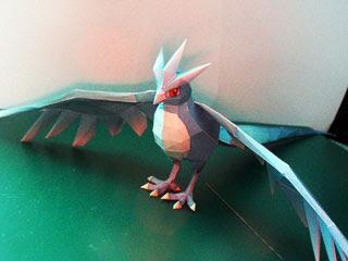 Pokemon Articuno Papercraft