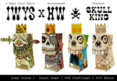 Skull King Papercraft