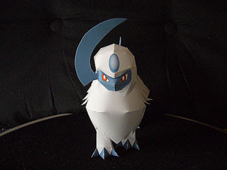 Pokemon Absol Papercraft 2
