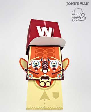Paper Totem Jonny Wan