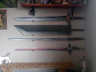 Soldier Sword & Genesis Sword Papercraft