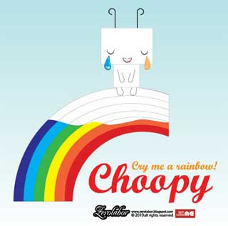 Choopy Paper Toy