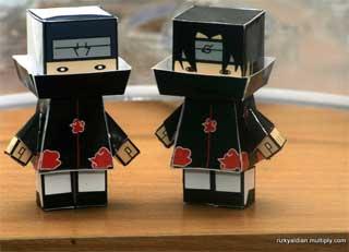 Naruto Akatsuki Papercraft