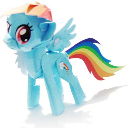 Rainbow Dash Pony