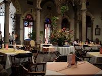 El patio del restaurante La Rinconada