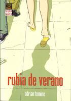 Adrian Tomine - Rubia de verano