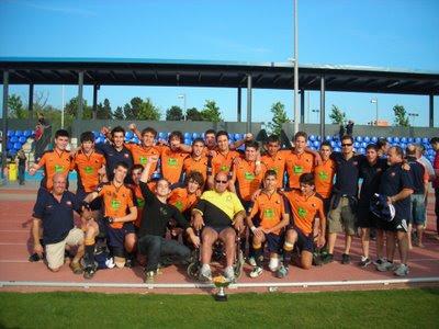 El Rugby Club L'Hospitalet, campeón de la copa Catalunya, foto RC l'H