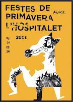 cartel de las Festes de Primavera 2009 de l'Hospitalet de Llobregat