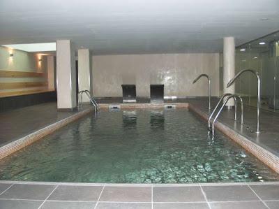 Area de wellness del hotel solvasa barcelona de l'hospitalet de llobregat