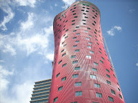 una de las torres de Toyo Ito albergará el Hotel Santos Porta Fira