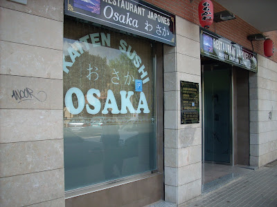 restaurante Osaka de l'Hospitalet de Llobregat