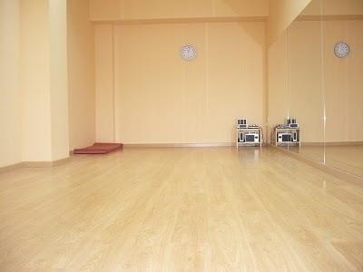 aula del espai de dansa l'Hospitalet