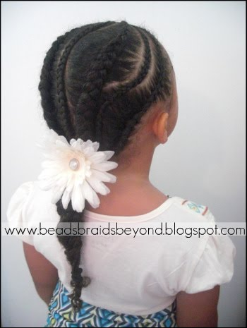 Remarkable Small Amp Large Alternating Cornrows Natural Hair Care Curly Nikki Hairstyle Inspiration Daily Dogsangcom