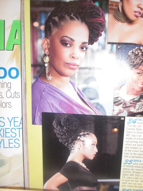 Black Hairstyles Magazine Sophisticate's Black Hair Styles and Care Guide,
