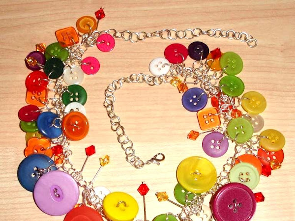 Another necklace - a bit of fun!