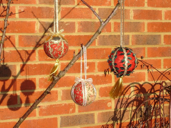 Day Fourteen - Christmas Baubles