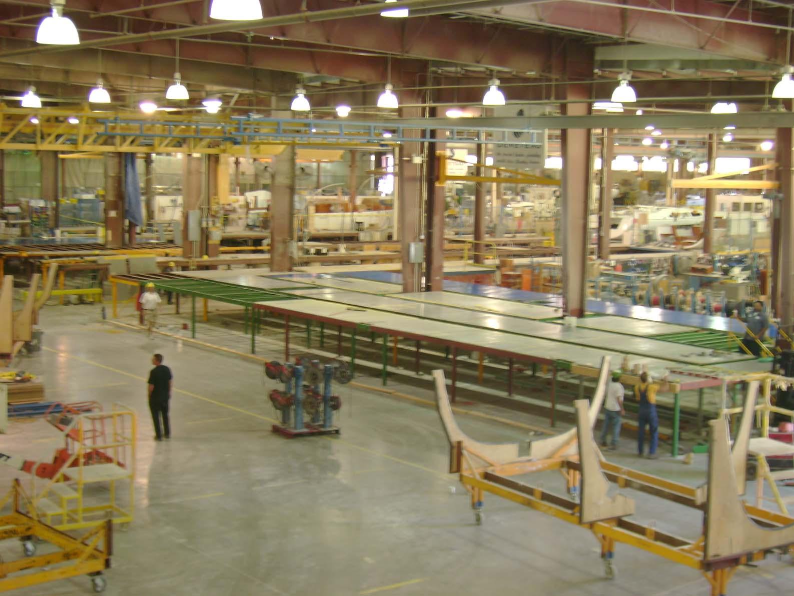 Beneteau Factory Tour
