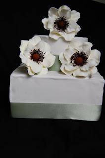 cream anemones