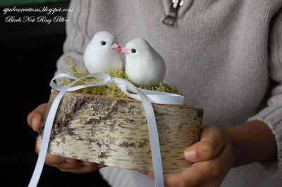bird ring pillow