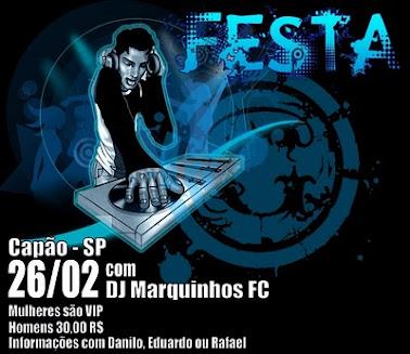 DJ MARQUINHOS FC NO COMANDO