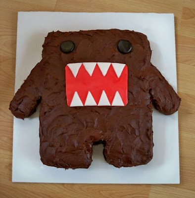Domo-Kun birthday cake by