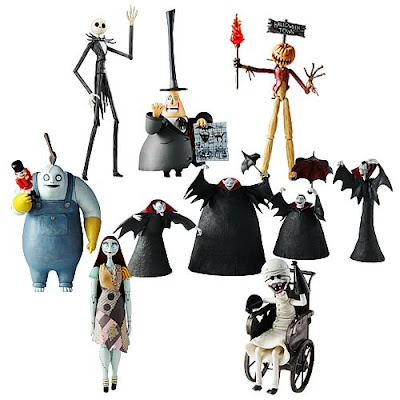 Nightmare Before Christmas toys