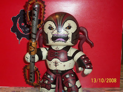 Skorge (Gears of War) Just a few of the Mighty Muggs on display at F1sh