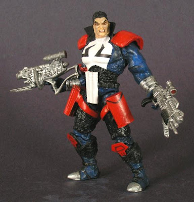 Custom Punisher 2099 action figure by N TT.