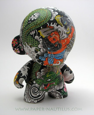 Heavily tattooed Yakuza Munny