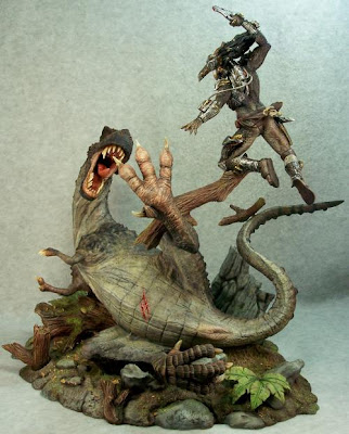 toycutter: Predator vs. T-Rex resin kit