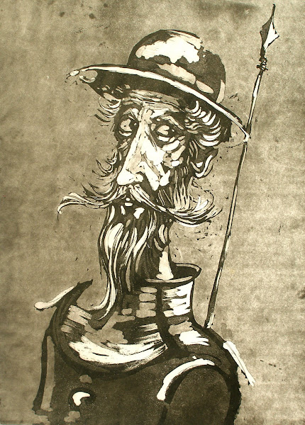 Don Quixote Etching 1972