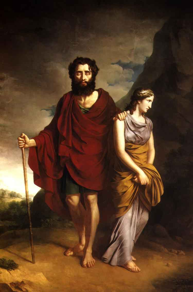 a focus on the characters antigone and creon in sophocles greek trilogy Greek tragedy, character the true tragic hero of antigone essay - the true tragic hero of creon in sophocles' antigone there has always been a great.