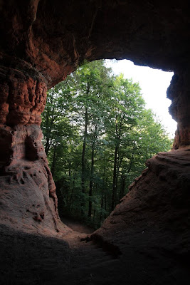 Genovevahöhle in the Eifel region