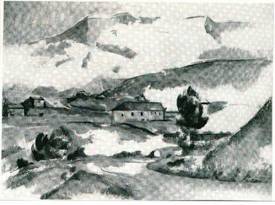 McDowell.Mont sainte victoire painting for comparison. jungny.com