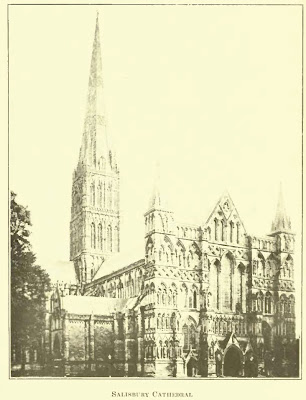 Salisburry Cathedral. Worringer. Form Problems of the Gothic. plate 22