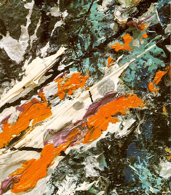 Pollock. detail from Full Fathom Five