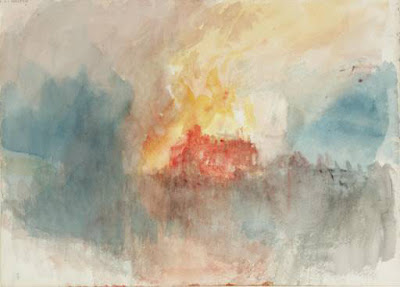 Turner The Burning of the Houses of Parliament 1834