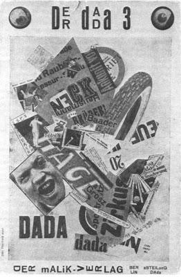 Heartfield. Cover for Der Dada #3