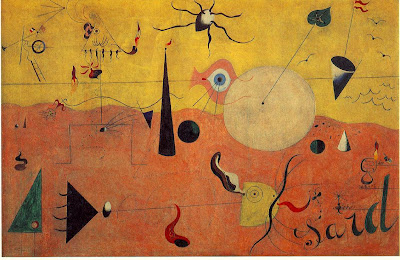 Joan Miro. Catalan Landscape. The Hunter, 1923-1924