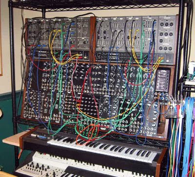 Frank Vanaman's MOTM Modular Synthesizer