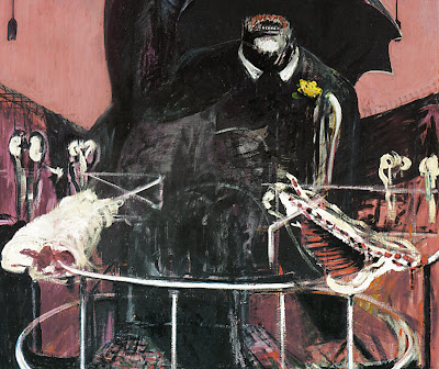 Francis Bacon's Catastrophe: Detail From Painting 1946