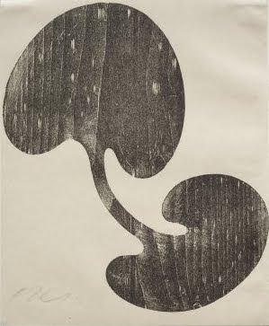 Jean Arp. Siamese Leaves