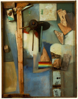 Schwitters. Merz Picture with Rainbow