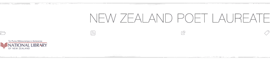 The New Zealand Poet Laureate blog