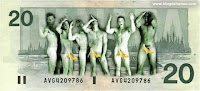 Billete desnudos