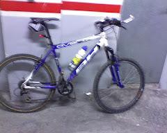 Mi bici después de la salida del miércoles