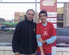 Con Agustín Ruiz