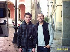 Yo con Rubén Lobato